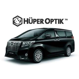 Kaca Film Huper Optik Ceramic Toyota Alphard (samping)