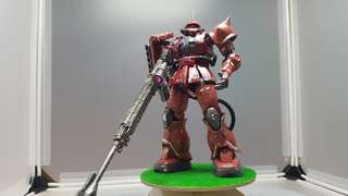 Just for show. HG A12 Zaku 2 for Char use