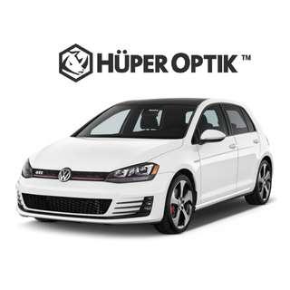 Kaca Film Samping Tolak Panas Tinggi Huper Optik Untuk VW Golf