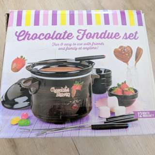 Chocolate Fondue Set NEW