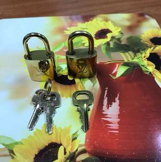 Louis Vuitton Key Lock
