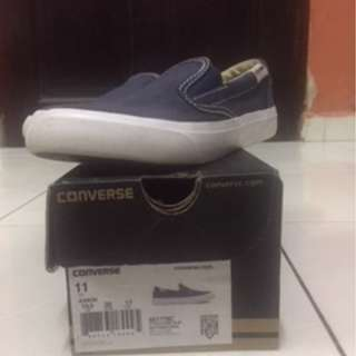 Converse casual blue