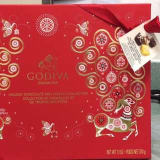 Godiva Holiday Chocolate and Truffle Collection