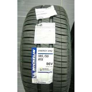 185/55R15 MICHELIN TYRE XM2 NEW TYRE