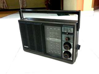 RADIO ANTIK PHILLIPS 70/80s