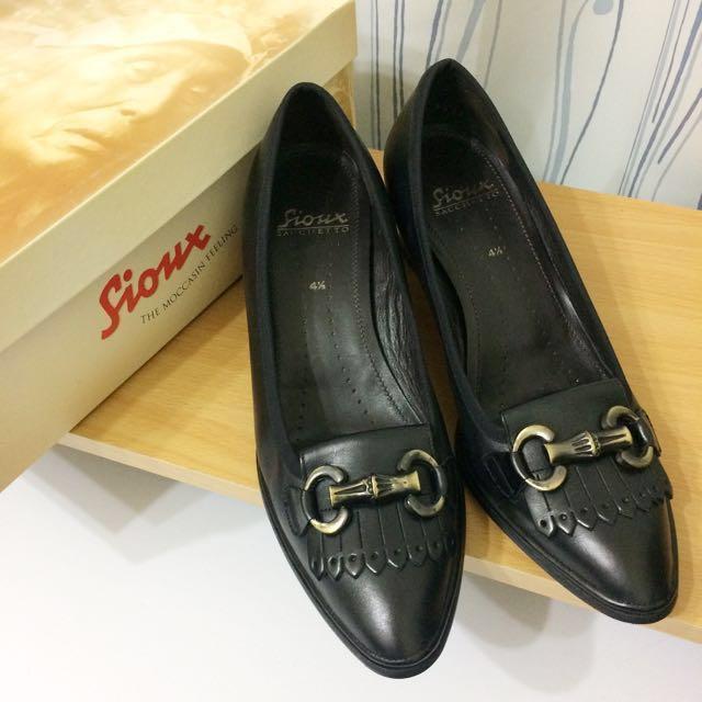 🈶原價$10500-近全新德國sioux真皮女鞋 #有超取最好買