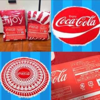 可口可樂特大毛巾(直徑150cm) Coca Cola Round Towel