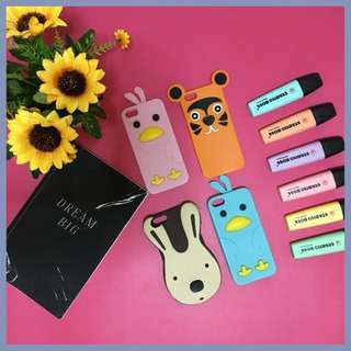 Rubber iPhone 5/5s Cute Case