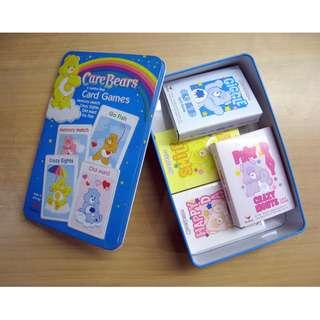 Care Bears 4 Jumbo Size Card Games
