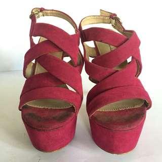 Strappy High Heels
