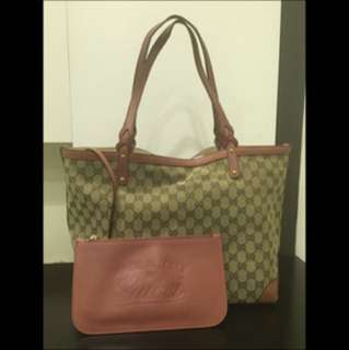 Gucci Craft Original GG Tote