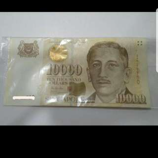 SGD  10K portrait note