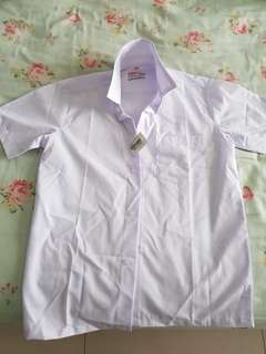 School Uniform Short Sleeve (White)
