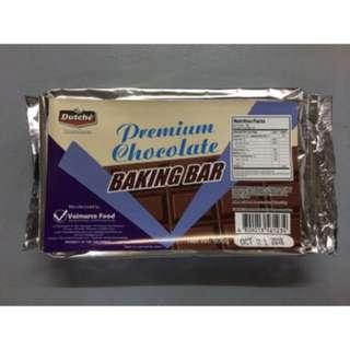 Dutche Premium Milk Chocolate Baking Bar