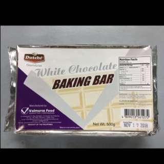 Dutche White Chocolate Baking Bar