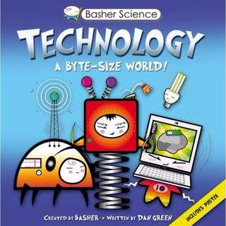 Basher Science: Technology: A byte-sized world (Hardcover)