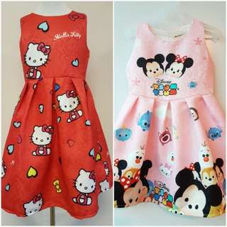 *CLEARANCE *Tsum Tsum & Hello Kitty Dress(2 for 65)