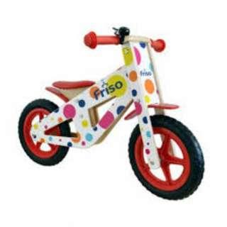 Brand New Unopened Friso Wooden Balance Bike