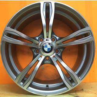 18 inch SPORT RIM BMW M5 GENUINE M DOUBLE SPOKE