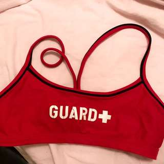 Lifeguard Sports Bra