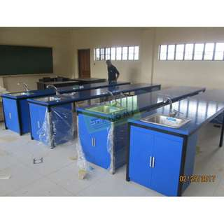 12pcs 200x90 TRAINING TABLES GLOSSY BLUE--KHOMI