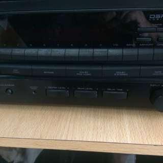 Kenwood KR-V8060 Audio Video Stereo Receiver AC 220-240 50hz 330watts