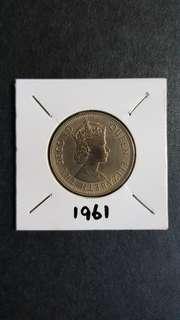 50¢ 1961年