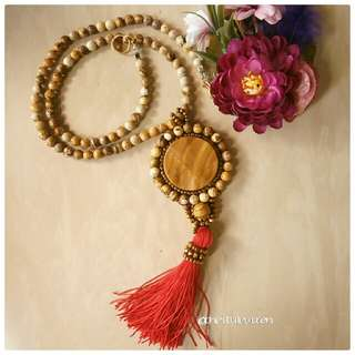 Sahara Beaded Necklace