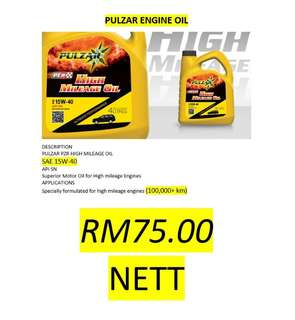 Pulzar High Mileage Oil 15W-40 Engine Oil