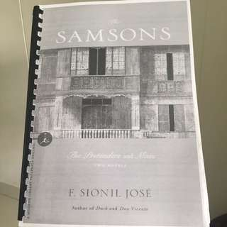 F. Sionil Jose / The Samsons