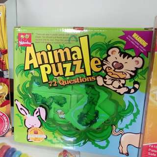 ANIMAL PUZZLE 72 QUESTIONS