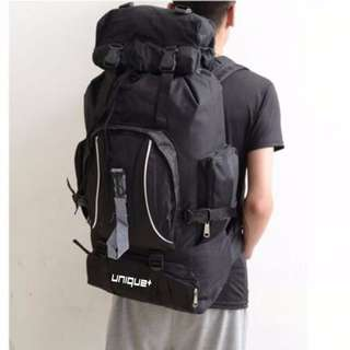 Tas UNiQue Ransel Gunung - Black