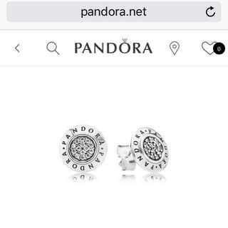 Pre-loved Pandora Stud Earrings