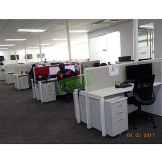 OFFICE PARTITION CUBICLES--KHOMI