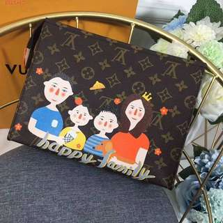 LV Monogram Clutch