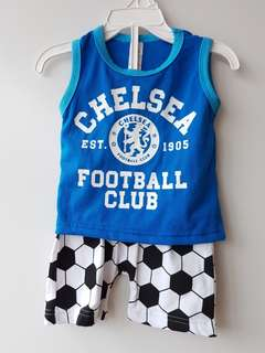 Chelsea tee &short one set