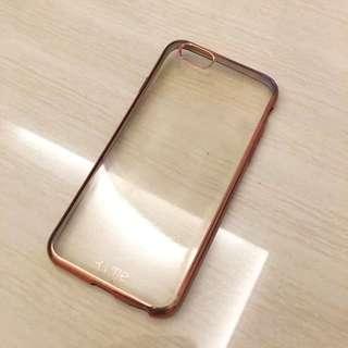 Iphone 6s rosegold casing