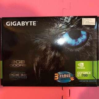 🚚 技嘉 顯示卡 GT730 2G GDDR5