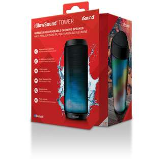 Brand New iSound IGLOWSOUND Tower Rechargable bluetooth speaker(sealed)