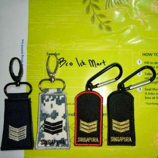 MINI RANK KEYCHAIN TAG