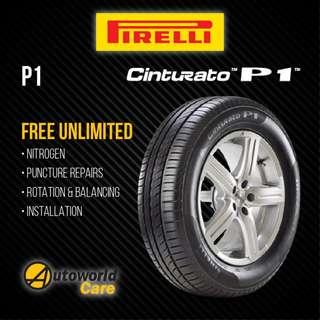 Pirelli P1 Cinturato Tyres