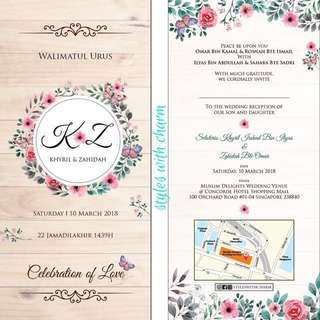 Wedding Invitation Card by styleswithcharm