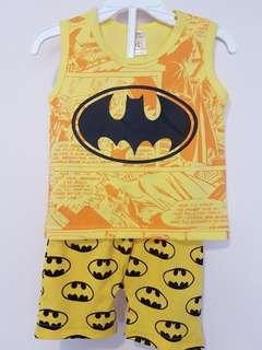 Batman tee &short one set