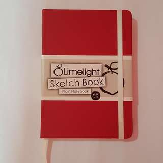 Limelight sketch book(plain notebook)(A5)(100 leaves)