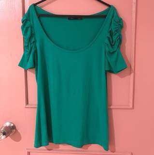 Mim Blouse fits S/M stretchable rarely used