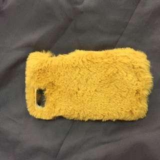 Fur iphone 6 / 7 Case Stradivarius ( yellow )