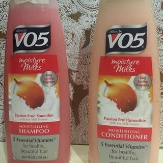 Alberto V05 Shampoo and Conditioner Bundle