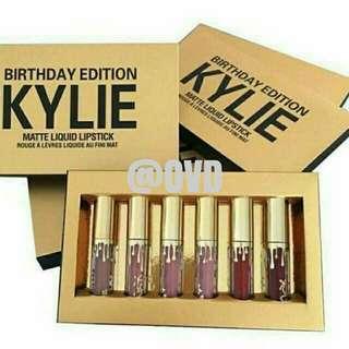 Kylie Matte Birthday Edition Set