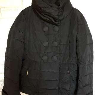 🎊二手MONCLER down jacket 黑色羽絨 size:2
