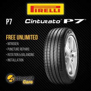 Pirelli P7 Cinturato Tyres